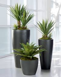 artificial plants broad leaf agave artificial succulent plant agaves plants and