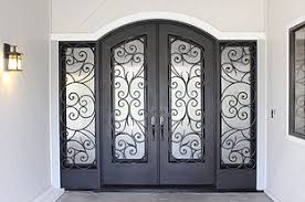 Elegant Entryways Windows U0026 Doors California Wood Masters Iron Doors