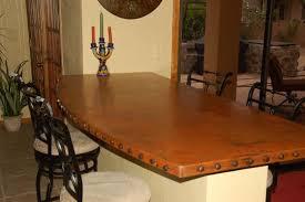 copper table tops iron bases u2013 myluxurykitchenandbath com