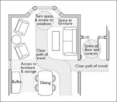 Accessible House Plans Space Planning For Accessible Home Design Figure 1 U2014 Accessible