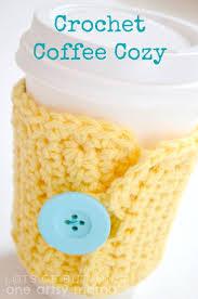 114 best crochet coffee cozies images on pinterest crochet