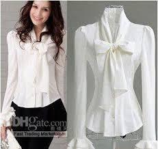 white blouses 2018 blouse s white fashion sleeved temperament