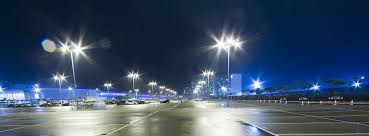 led parking lot lighting light pole installation pompano fl