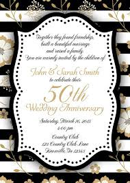 Best 25 Wedding Reception Invitation Best 25 50th Anniversary Invitations Ideas On Pinterest 50th