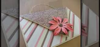 How To Make A Card Envelope - how to make a heart shaped card that fold into an envelope