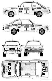 ford escort mk ii rs group 4 1976 racing cars