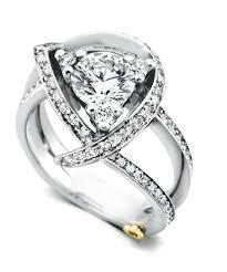 luxury contemporary engagement ring schneider design