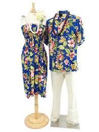 couple matching hawaiian matching hawaiian