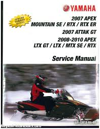 Yamaha Snowmobile Manuals Repair Manuals Online