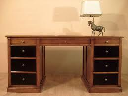 bureau ministre bureau ministre en merisier bora meubles bois massif