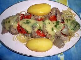 cuisiner tete de veau recette de tete de veau tomates oignons vinaigrette