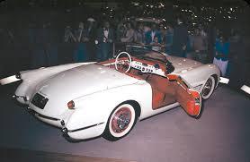 1953 corvette wagon corvette evolution told through its concepts heacock