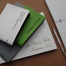engravable photo album engraved leather wedding album by artbox notonthehighstreet