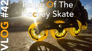 reign of the 3 wheeled inline hockey skate youtube