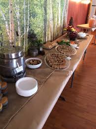 camping themed baby shower right u0026 west