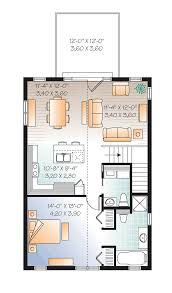 Garage Blueprint Second Floor Plan Of Garage Plan 76227 Great House Above The
