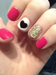 adorable wish i found this before valentines nails pinterest