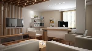 white home office design big white