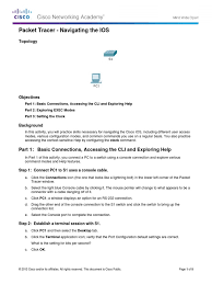 2 2 3 3 packet tracer configuring initial switch settings