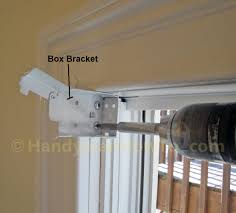 how to install faux wood window blinds handymanhowto com window blind box bracket installation