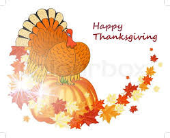 thanksgiving day background stock vector colourbox