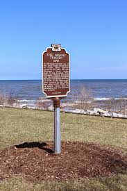 Lake Michigan Shipwrecks Map by Wisconsin Historical Markers Marker 428 The