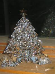 crystal christmas tree decorations uk premier decorations cm gold