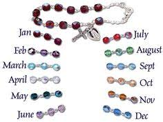 birthstone rosary from catholic child my rosary for babies and
