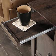 amazon com sauder 420422 end table furniture carson forge coffee