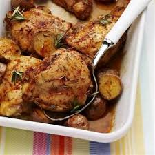 cuisine poulet au four ragoût de poulet au four recettes de cuisine française