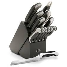 Kitchen Knives Sabatier Majestic 15 Piece Knife Block Set Hamptonforge Com
