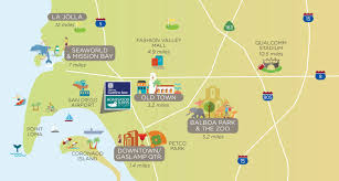 San Diego City Map by Hotel Just Minutes From San Diego Airport