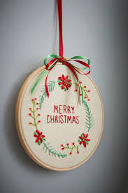 majestic design ideas embroidered christmas ornaments best 25