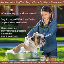 usda certified organic cedar and peppermint conditioning dog