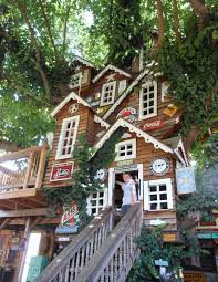 Extraordinary Tree House Design Architecture With Unique Wooden