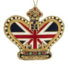 Union Jack Home Decor Buy Tinker Tailor Union Jack Crown Christmas Tree Decoration Amara