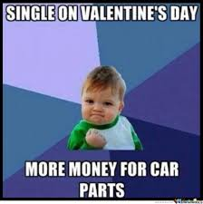 Single On Valentines Day Meme - success kid is single on valentine s day by ben meme center
