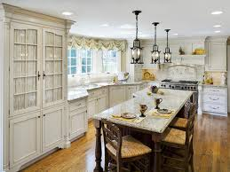 eccentric french country kitchen with awesome furniture