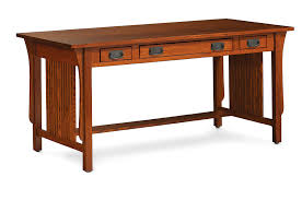 captivating mission furniture desk custom quarter sawn white oak