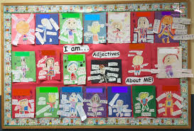 mom to 2 posh lil divas adjective me activity in kindergarten