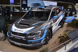 subaru sti rally car 2018 subaru wrx and wrx sti debut in detroit autoevolution