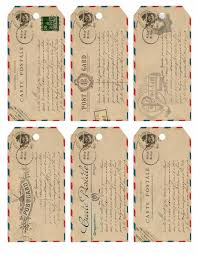 vintage christmas tag printables u2013 happy holidays