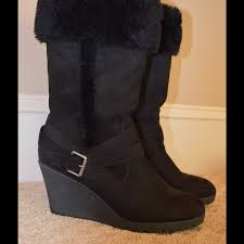 womens boots at payless 50 eagle by payless boots black wedge boot with