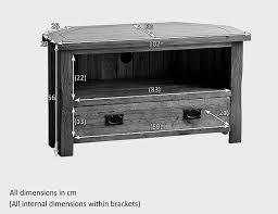 Oak Bar Cabinet Furniture Pretty Original Rustic Solid Oak Corner Tv Cabinet