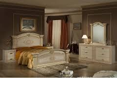 dreamfurniture com opera italian classic beige gold bedroom set