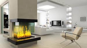 living room fireplace open design electric fireplaces indoor