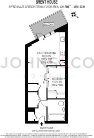 sle floor plan studio apartment to rent in brent house nine elms point sw8 sw8