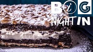 chocolate meringue cake recipe big night in youtube