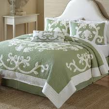 comforter green and fresh tropical bedspreads bedspreadss com