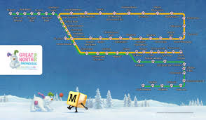 Metro North Maps by Great North Snowdogs Nexus Tyne And Wear